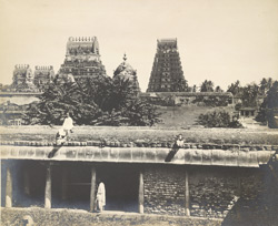 The principal shrine, Varadarajaperumal Temple, Conjeeveram